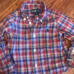 🔻5/$25 Ralph Lauren plaid shirt